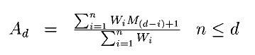 weighted-moving-average-formula
